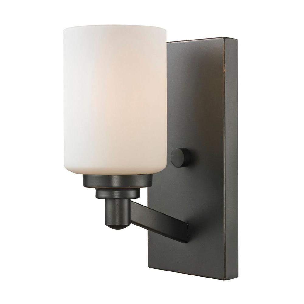 wall lantern sconce rustic black small