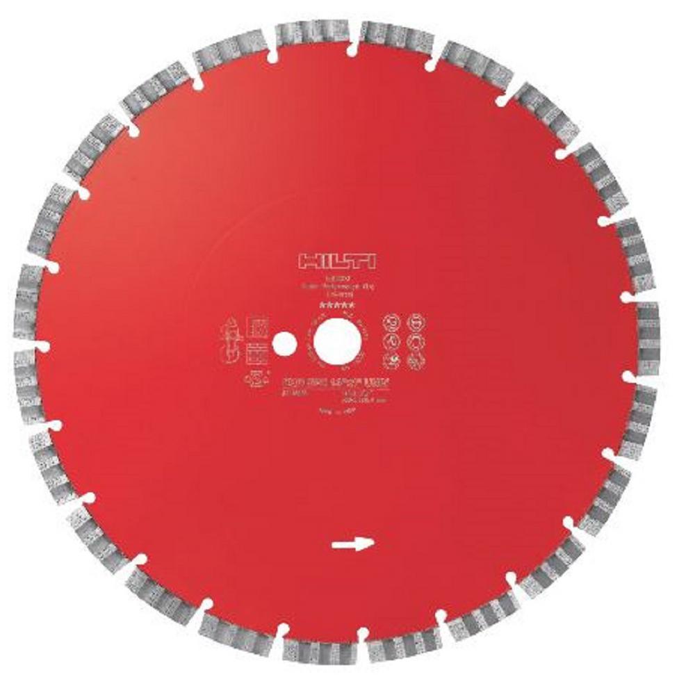 14 in. x 1 in. EQD SPX Universal Segmented Diamond Blades