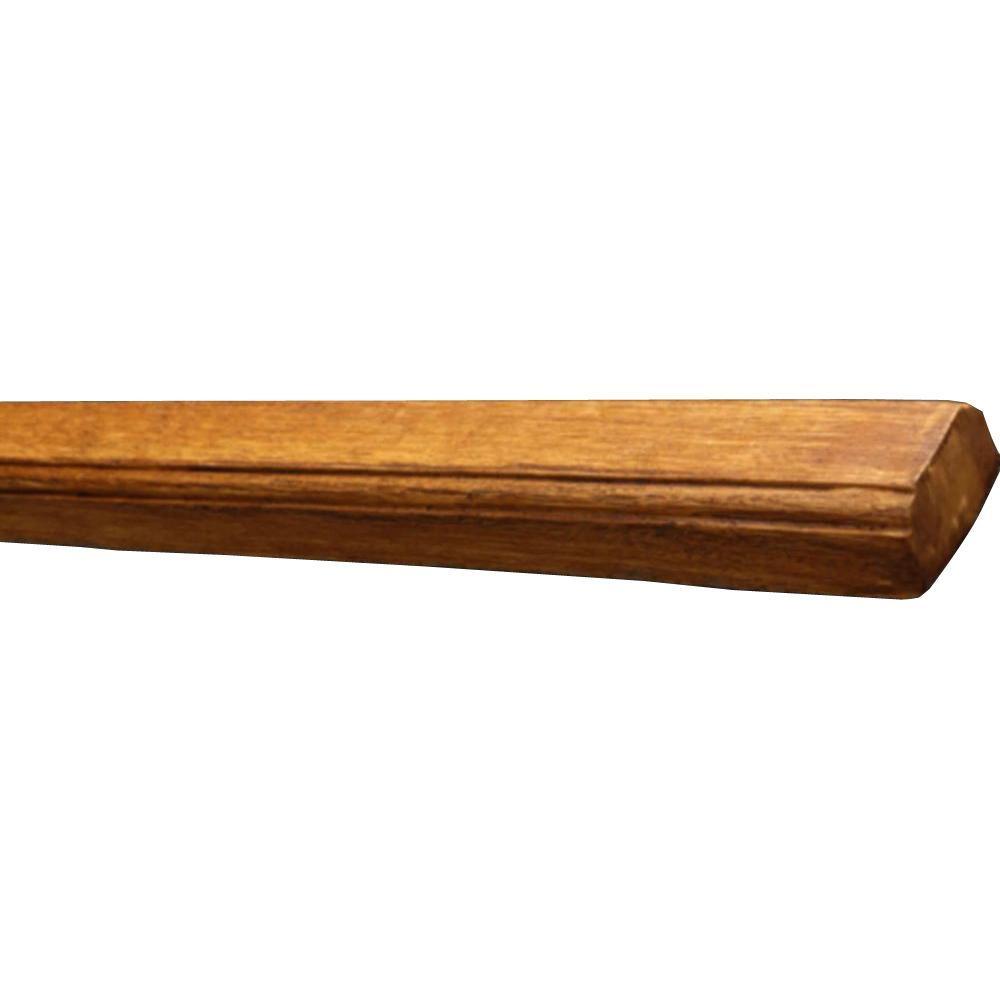3-7/8 in. x 2-1/2 in. x 11 ft. 6 in. Faux Wood Beam