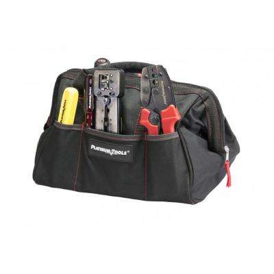 12.75 in. x 8.75 in. x 8 in. Big Mouth Canvas Tool Bag