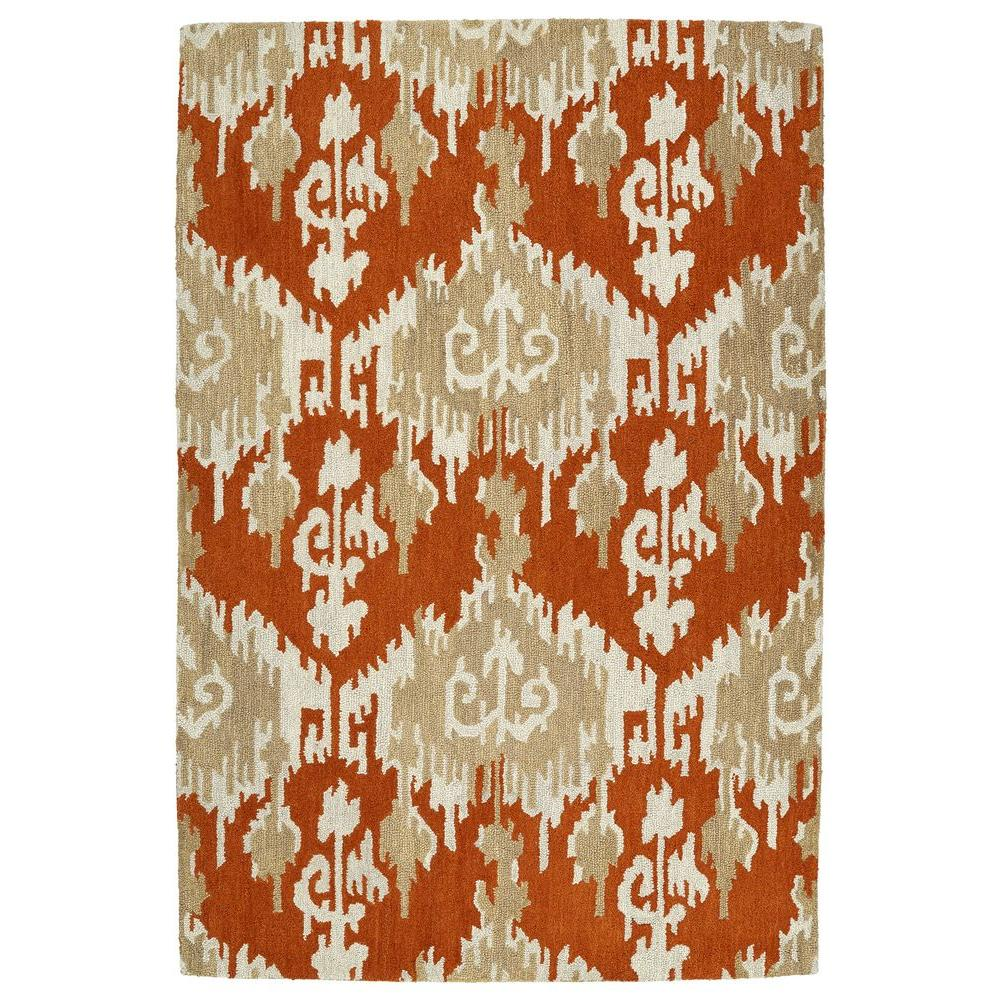 Casual Paprika 7 ft. 6 in. x 9 ft. Area Rug