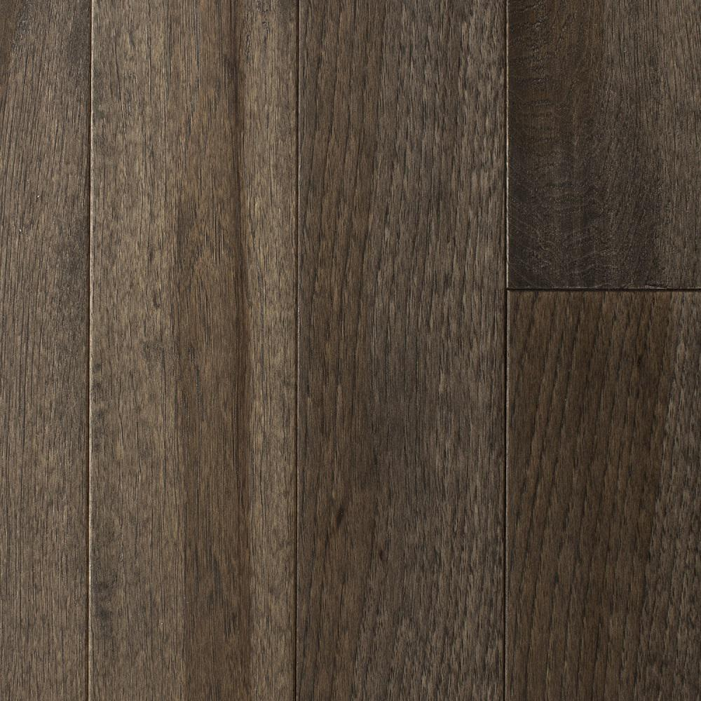Blue ridge hardwood flooring hickory heritage grey hand for Solid hardwood flooring