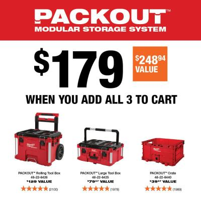 PACKOUT 22 in. Rolling Tool Box