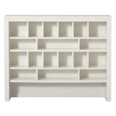 Craft Space 42 in. W 18-Cube Picket Fence Apothecary Hutch