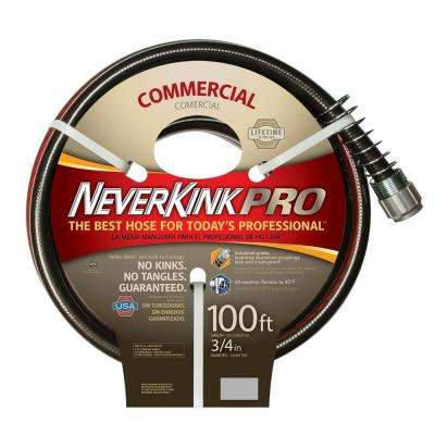 3/4 in. Dia x 100 ft. Commercial Duty Water Hose