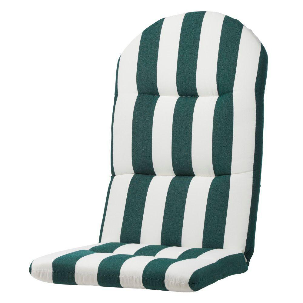 Home Decorators Collection Maxim Forest Sunbrella Bull-Nose Outdoor Adirondack Chair Cushion