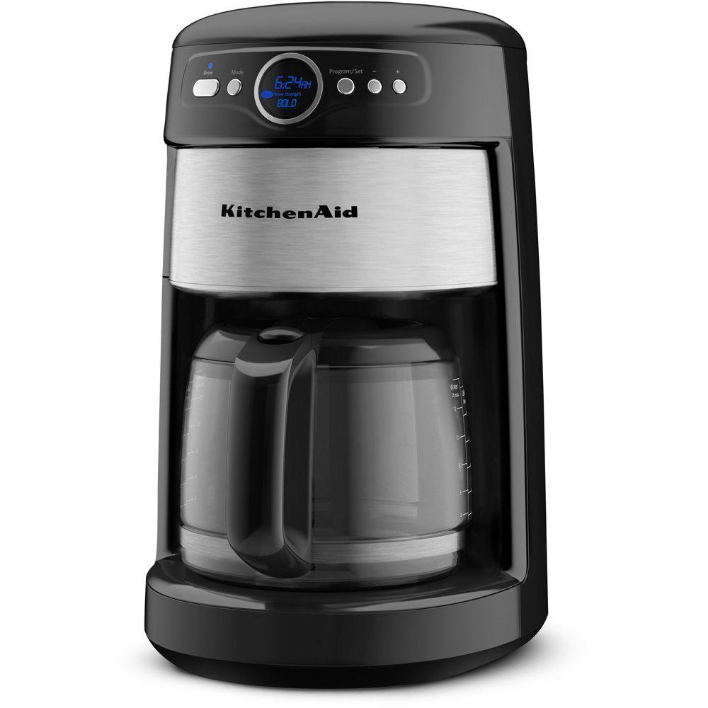 KitchenAid 14-Cup Coffee Maker in Onyx Black-DISCONTINUED
