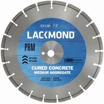 16 in. x 0.125 in. x 1 in. Premium CW20 Series Wet Cut Diamond Blade for Cured Concrete