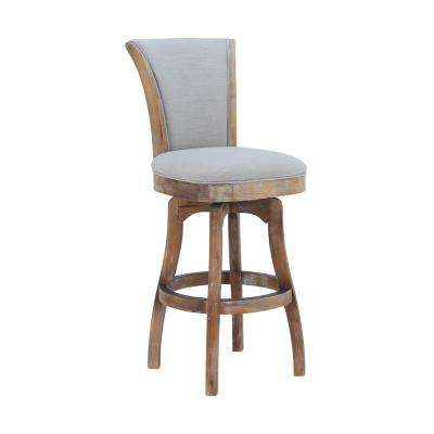 Raleigh 45 in. Putty Ivory Barstool