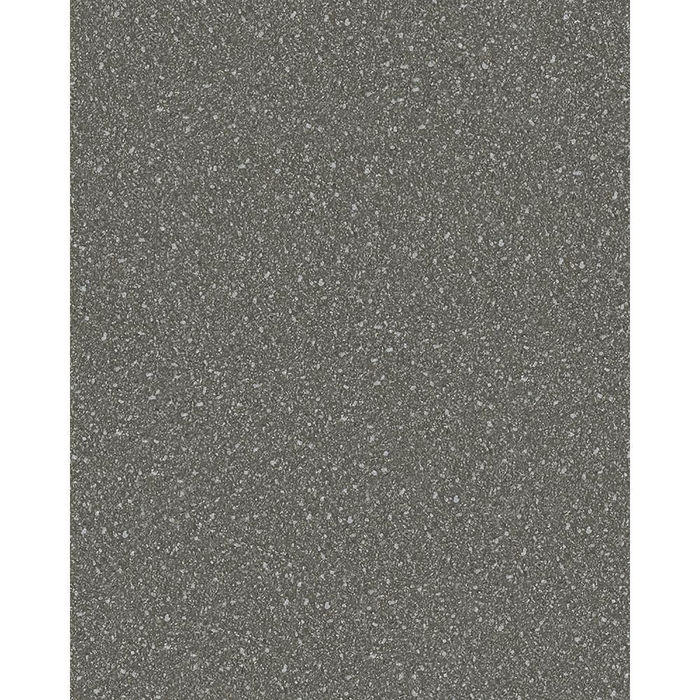 8 in. x 10 in. Griselda Charcoal Speckle Wallpaper Sample