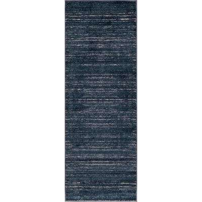 Uptown Collection by Jill Zarin™ Madison Avenue Navy Blue 2' 2 x 6' 0 Runner Rug