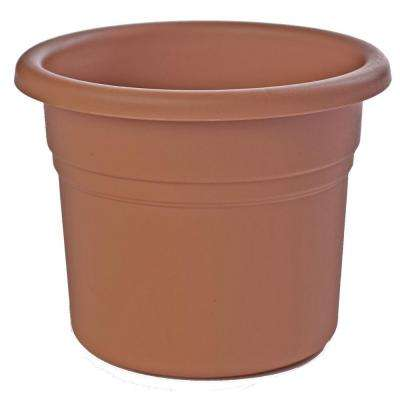 12 in. Terra Cotta Posy Plastic Planter