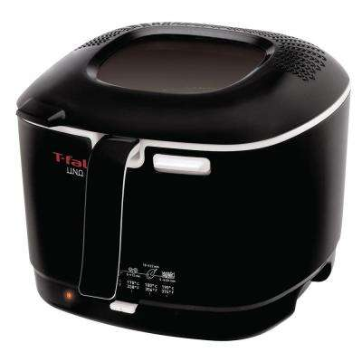 Compact Deep Fryer in Black