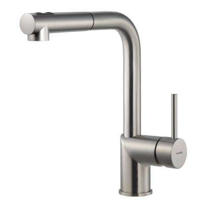 Vitale Single-Handle Pull Out Sprayer Kitchen Faucet with CeraDox Technology in Brushed Nickel