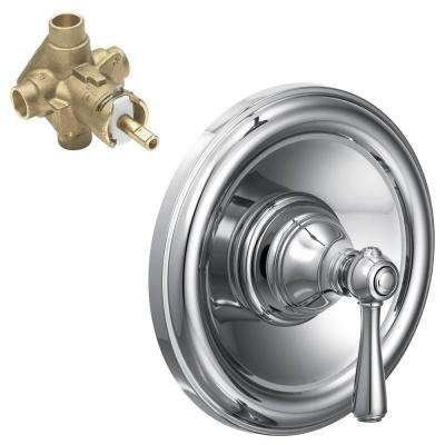 Kingsley Single-Handle Posi-Temp Valve Trim Kit with Valve in Chrome
