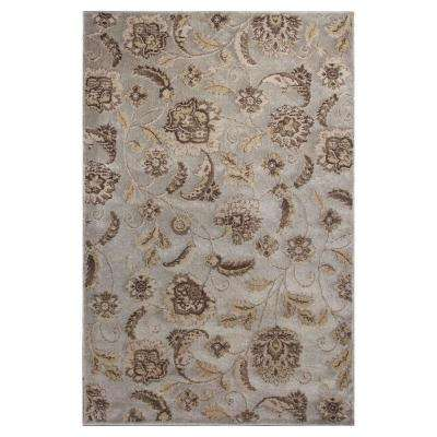 Silver Charisma 3 ft. 3 in. x 4 ft. 11 in. Area Rug