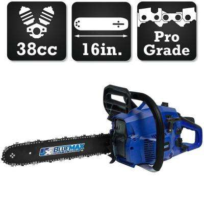 16 in. 38cc High Performance Gas Chainsaw