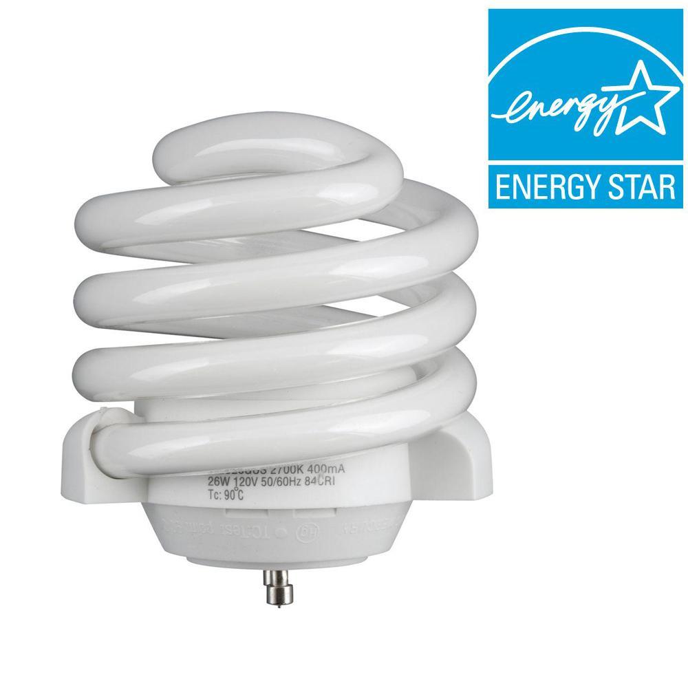 Progress Lighting 100W Equivalent Soft White (2700K) GU24 CFL Light Bulb