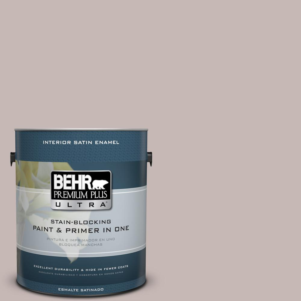 1 gal. #HDC-CL-25G Georgian Pink Satin Enamel Interior Paint