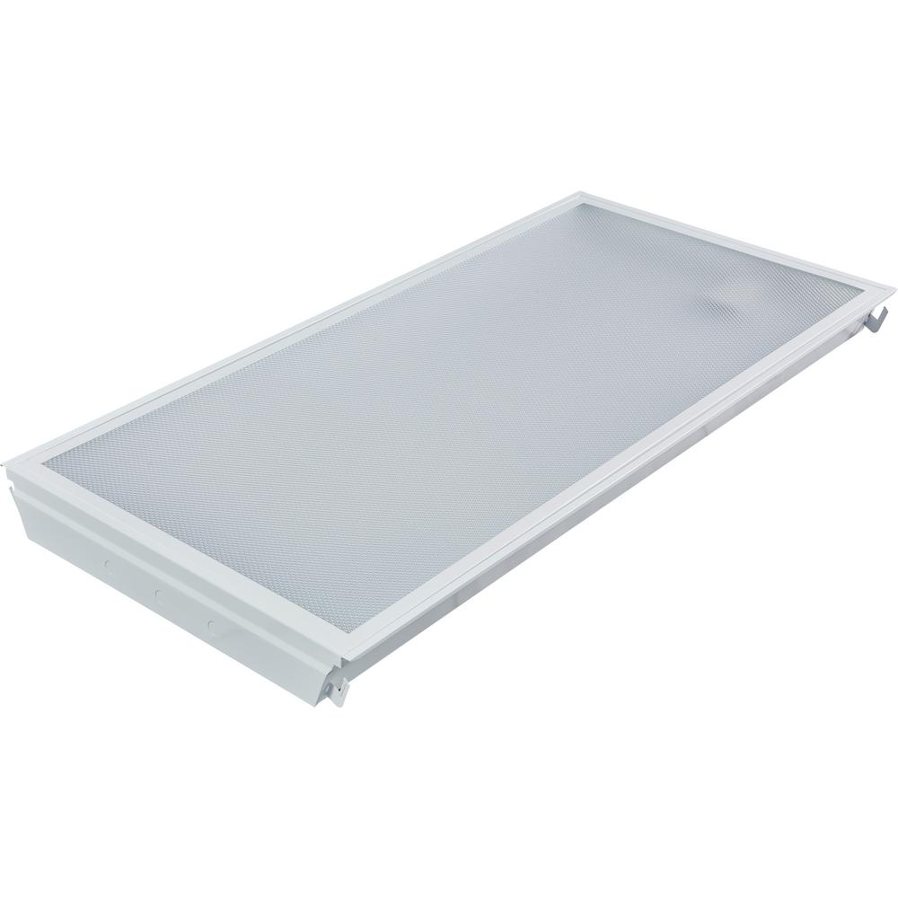 2 ft. x 4 ft. 40-Watt Prismatic Dimmable 4000K Integrated LED