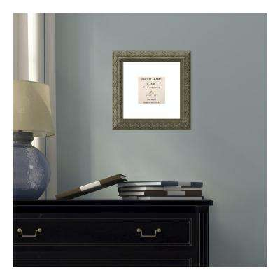 Barcelona 4 in. x 4 in. White Matted Gold Champagne Picture Frame