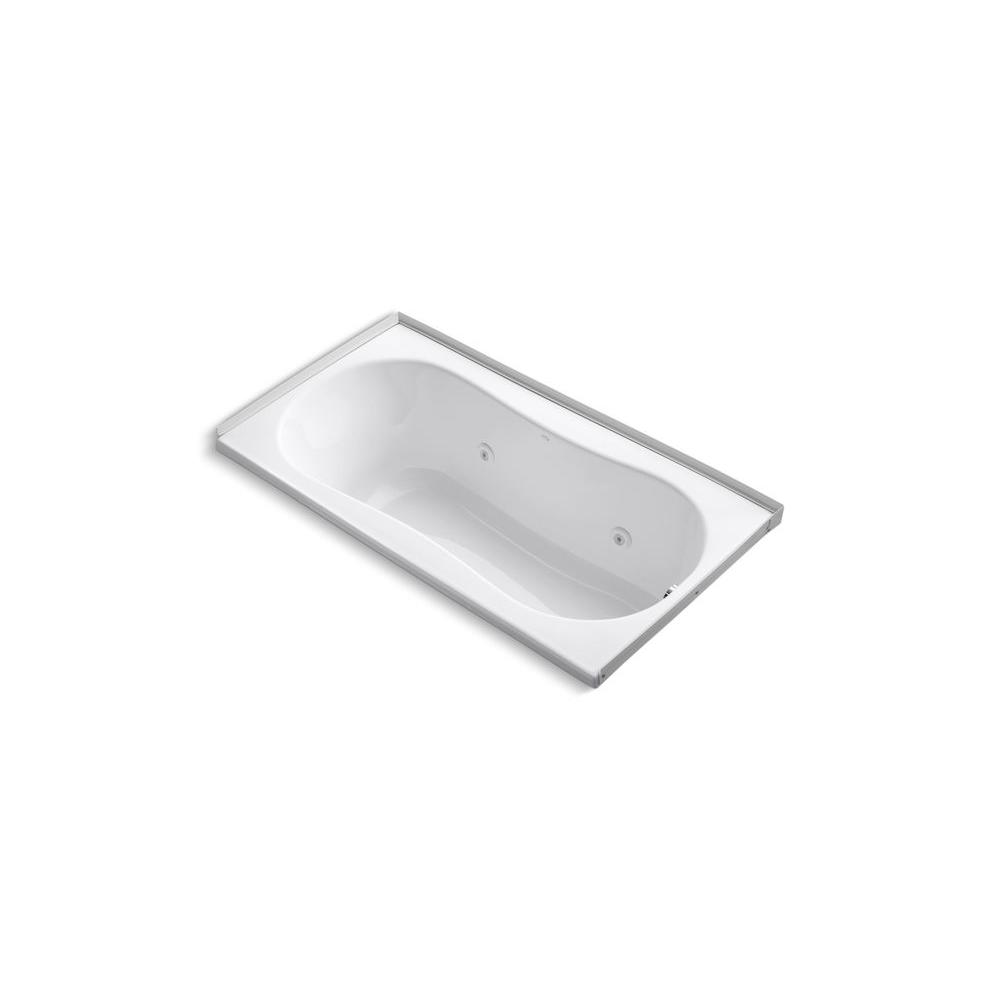 KOHLER Proflex 6032 5 ft. Whirlpool Tub in White-DISCONTINUED