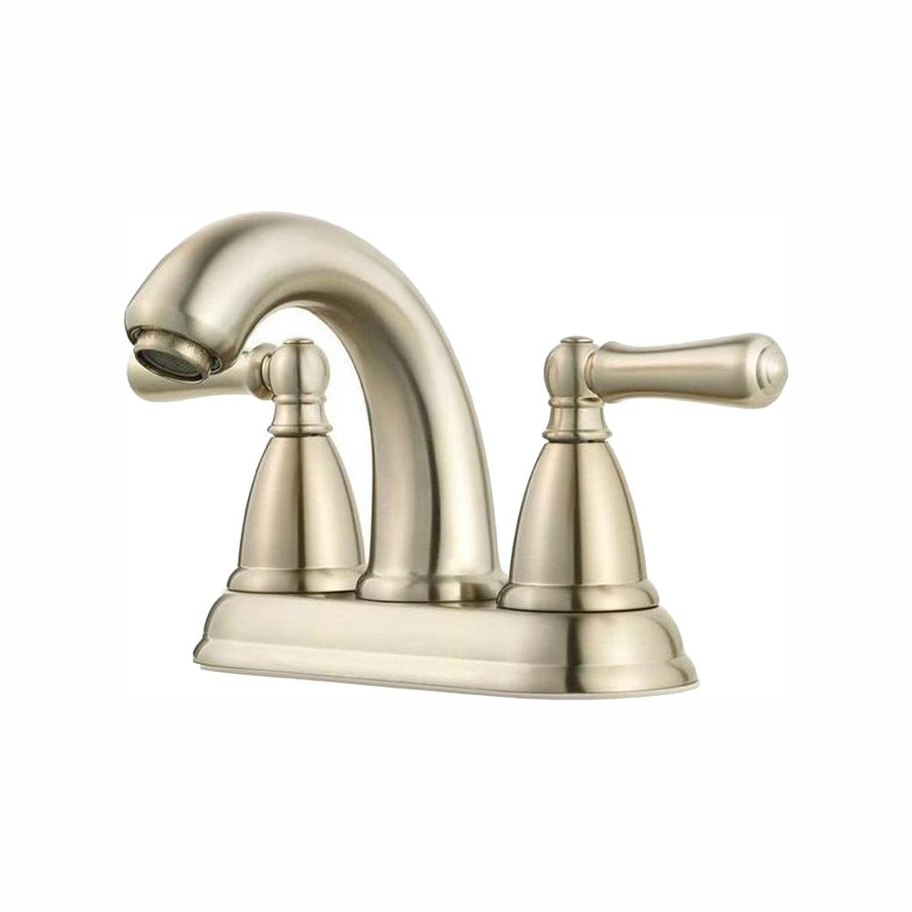 Pfister Canton 4 in. Centerset 2-Handle Bathroom Faucet in Brushed Nickel