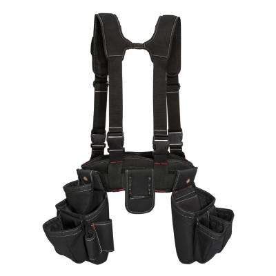 5 in. Carpenter's Rig Black (4-Piece)