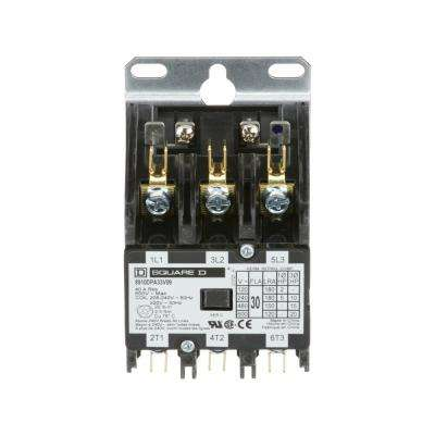 30 Amp 208/240-Volt AC 3 Pole Definite Purpose Contactor (20-Pack)