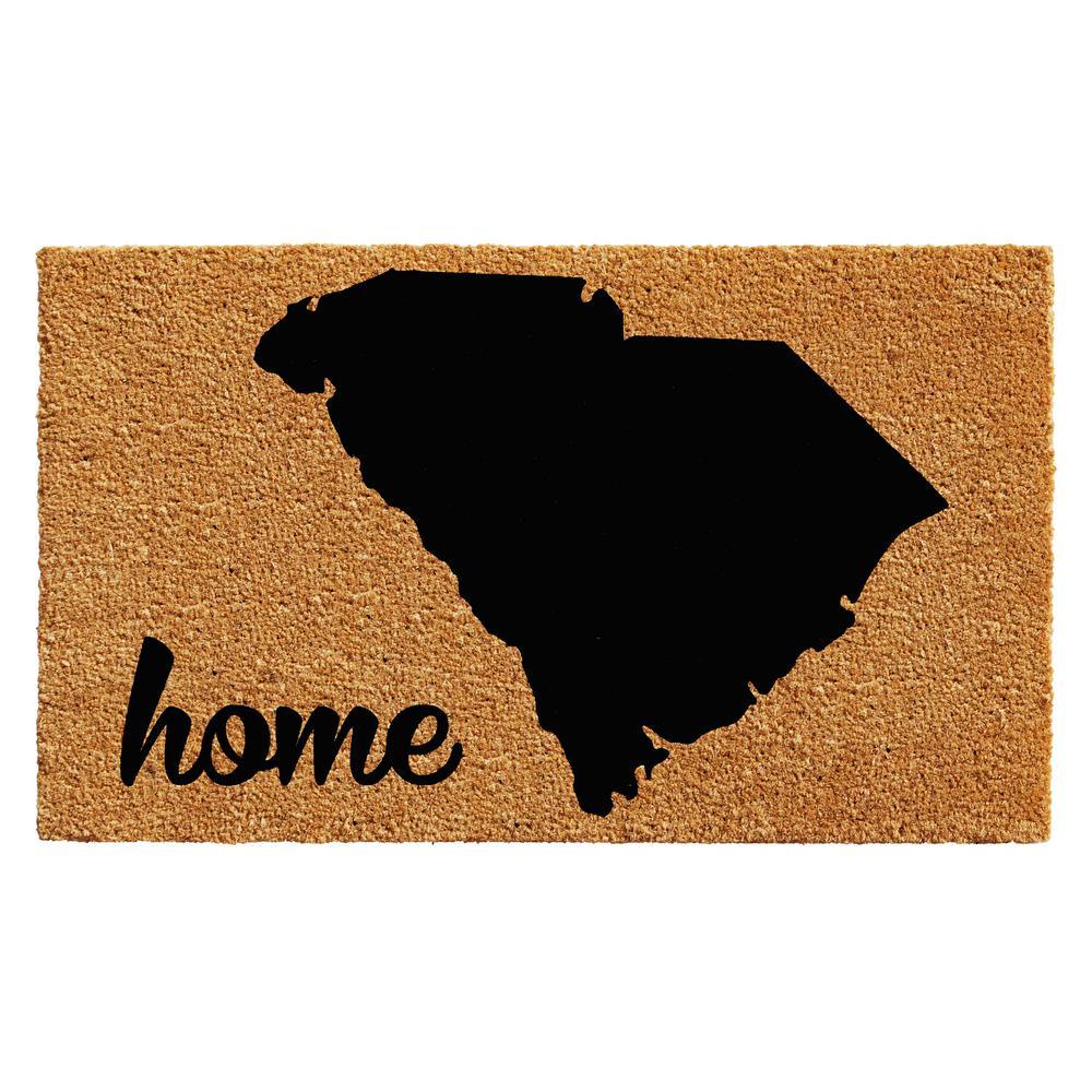 Home u0026 More South Carolina Door Mat 18 in. x 30 ...  sc 1 st  Home Depot & Home u0026 More South Carolina Door Mat 18 in. x 30 in.-102931830 - The ...