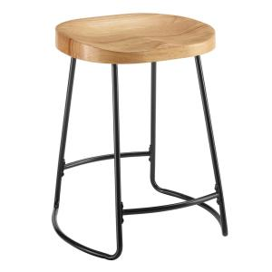 Astounding Taylor 24 In Black Tractor Seat Counter Stool Ibusinesslaw Wood Chair Design Ideas Ibusinesslaworg