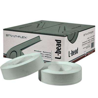 2-1/4 in. x 100 ft. L-Bead Drywall Corner Tape L-Trim