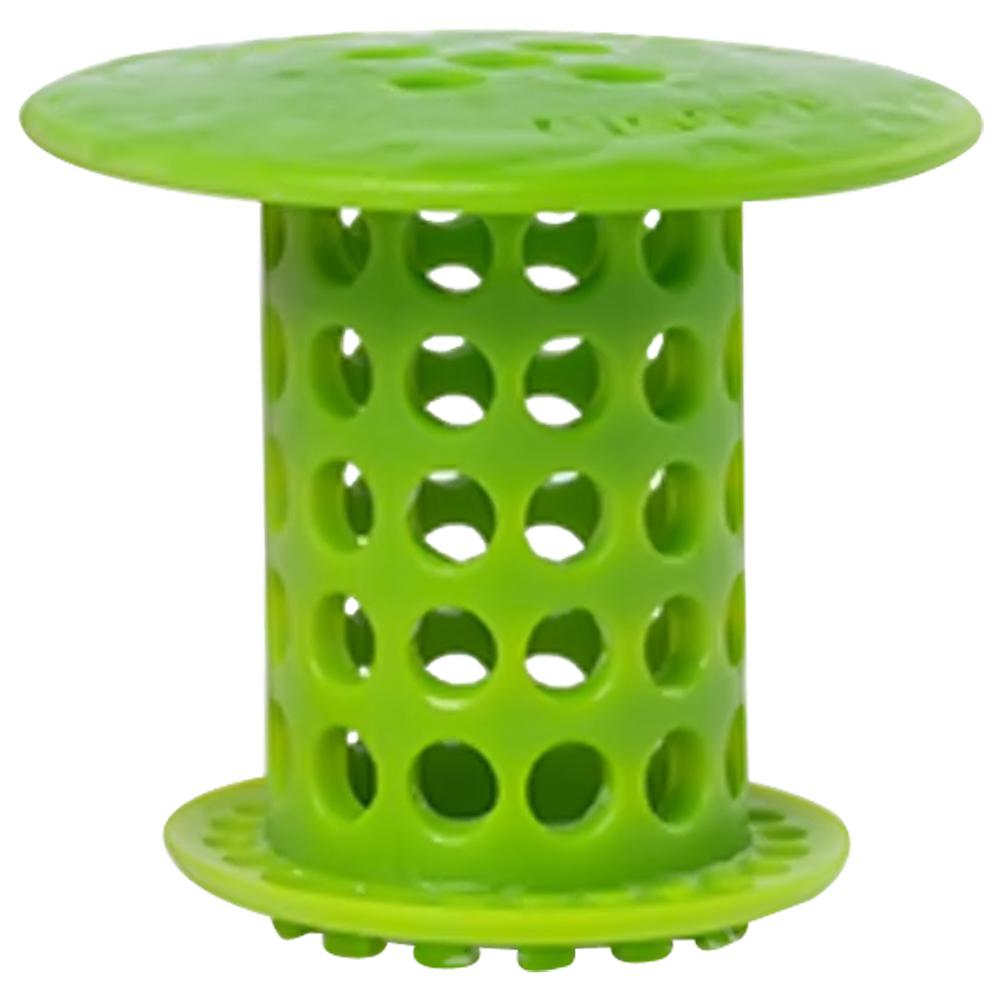 TubShroom 1.5 in. - 1.75 in. Drain Protector Hair Catcher in Green ...