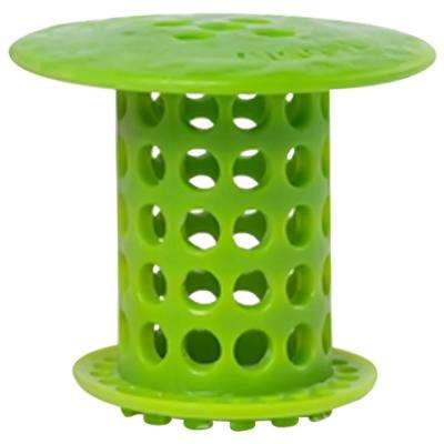 1.5 in. - 1.75 in. Drain Protector Hair Catcher in Green