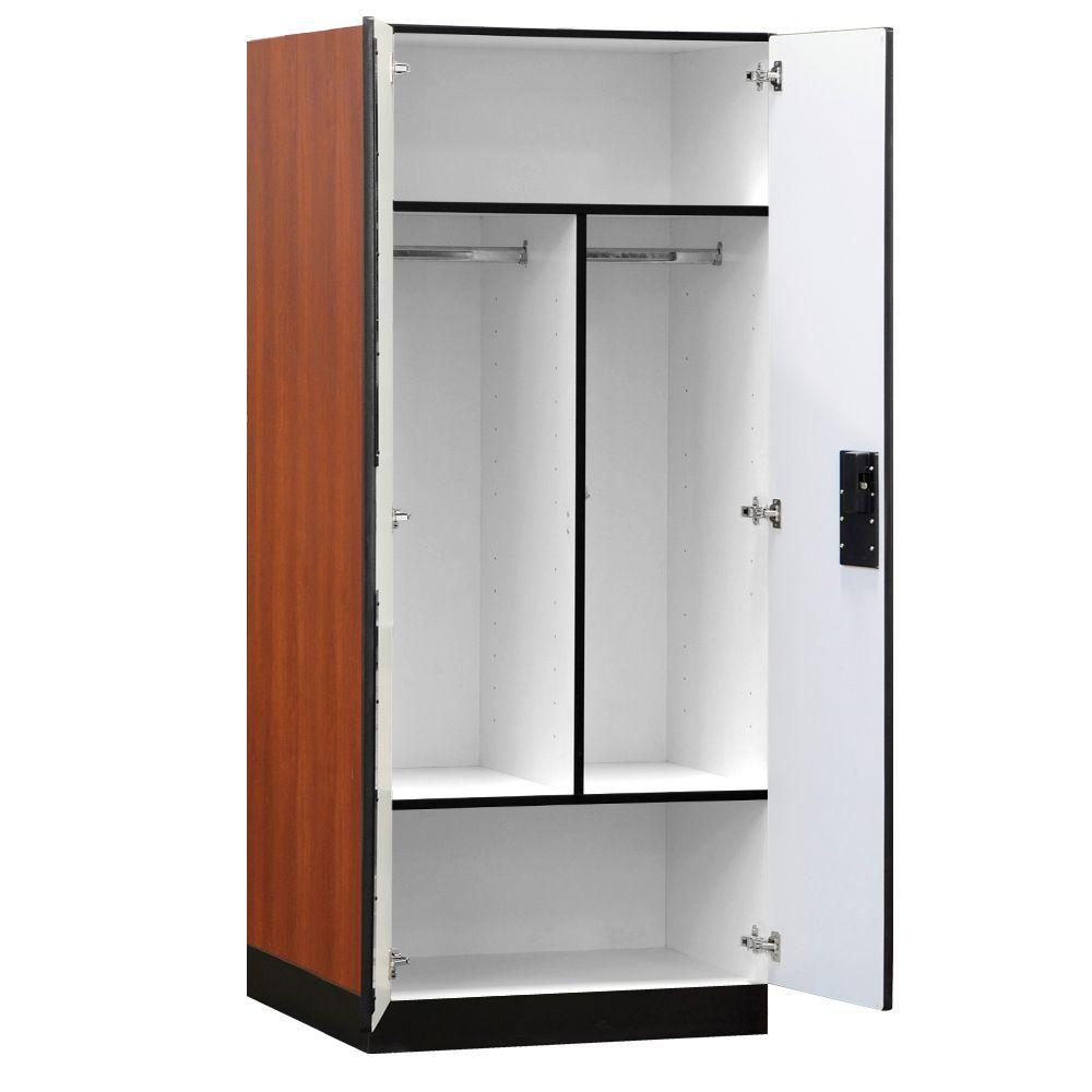 storage cabinets at home depot salsbury industries 3100 series 32 in w x 76 in h x 24 26833