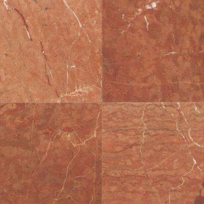Natural Stone Collection Rojo Alicante 12 In X Marble Floor And Wall