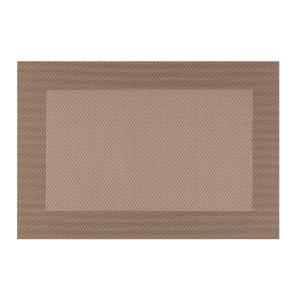 Kraftware EveryTable Thick Border Shades of Taupe Placemat (Set of 12) by Kraftware
