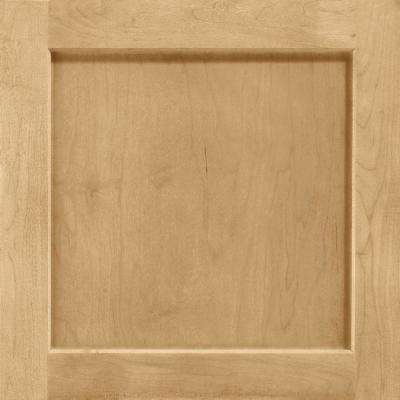 14-9/16 in. x 14-1/2 in. Cabinet Door Sample in Leesburg Maple Rye