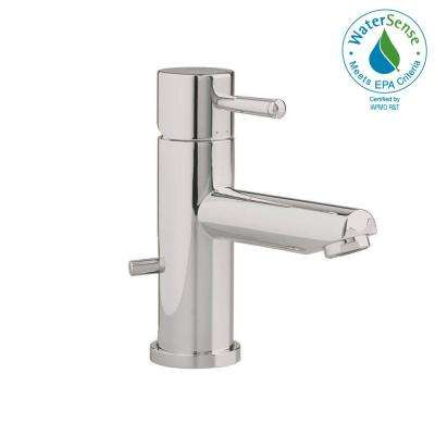 Serin Single Hole Single Handle Low-Arc Bathroom Faucet with Speed Connect Drain in Brushed Nickel