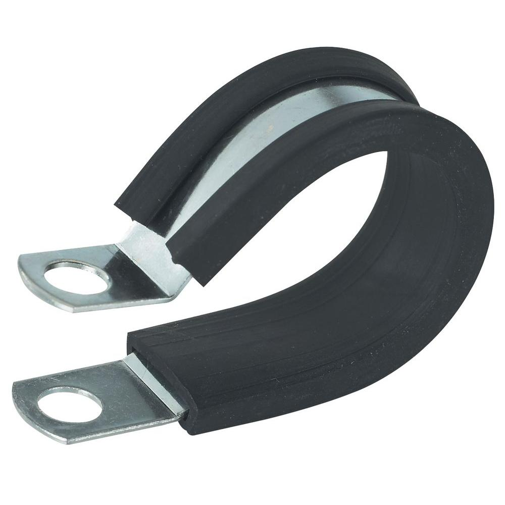 Gardner Bender 3/8 in. Rubber-Insulated Metal Clamps (2-Pack)