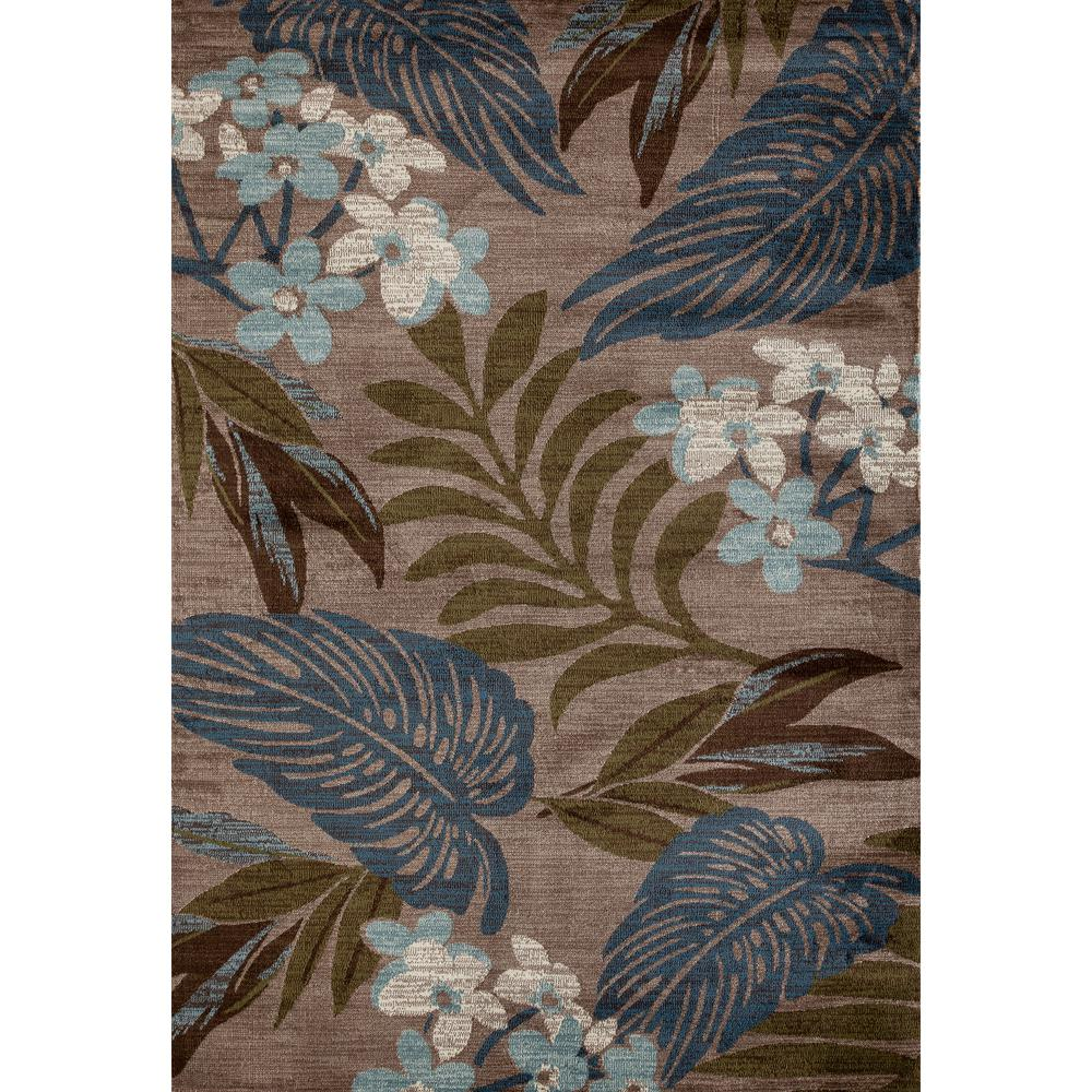 Palm Coast Tranquil Beige 7 ft. x 9 ft. Area Rug