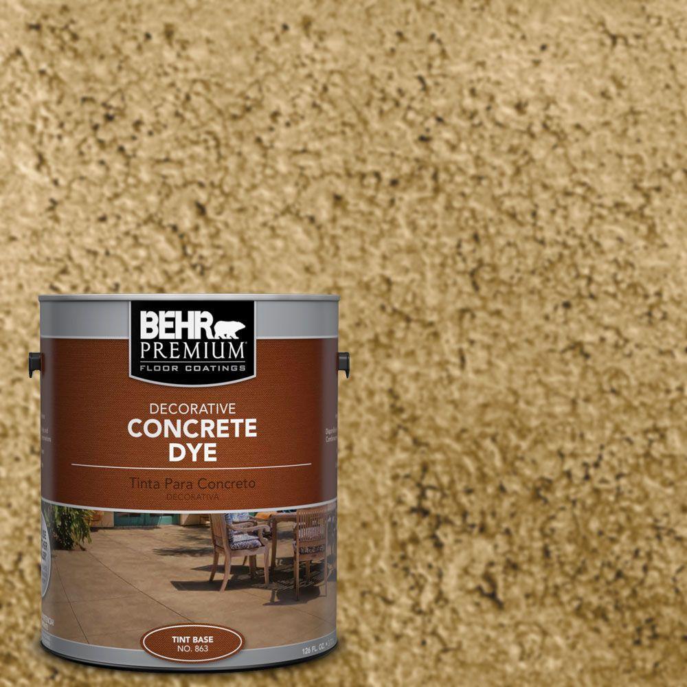 1 gal. #CD-812 Desert Gold Concrete Dye