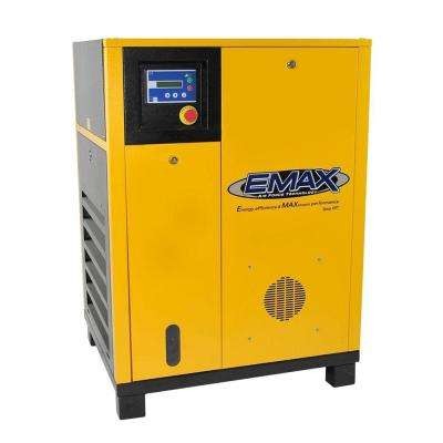 Premium Series 10 HP 3-Phase Dual Stage Electric Rotary Screw Compressor