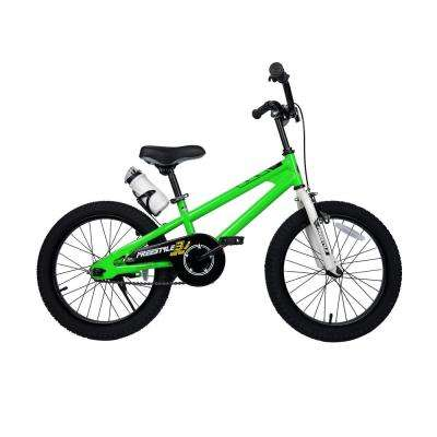 18 in. Wheels Freestyle BMX Kid's Bike, Boy's Bikes and Girl's Bikes in Green