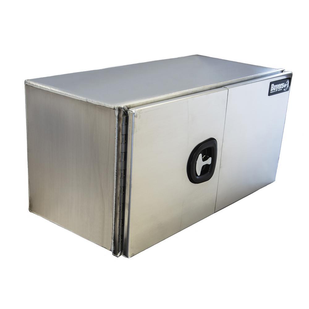 48 Silver Aluminum  Underbody Truck Tool Box