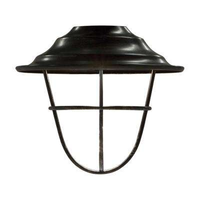 Oil-Rubbed Bronze Cage Cafe Light Shade (6-Pack)