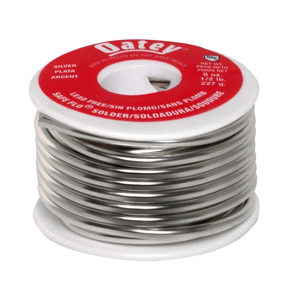 Safe-Flo 8 oz. Lead-Free Silver Solder-290242 - The Home Depot