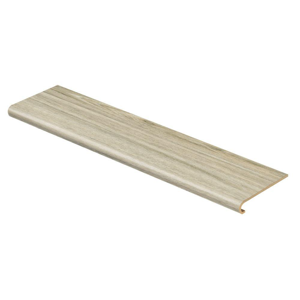 Cap A Tread Alpine Elm 47 in. Long x 12-1/8 in. Deep x 1-11/16 in. Height Vinyl to Cover Stairs 1 in. Thick