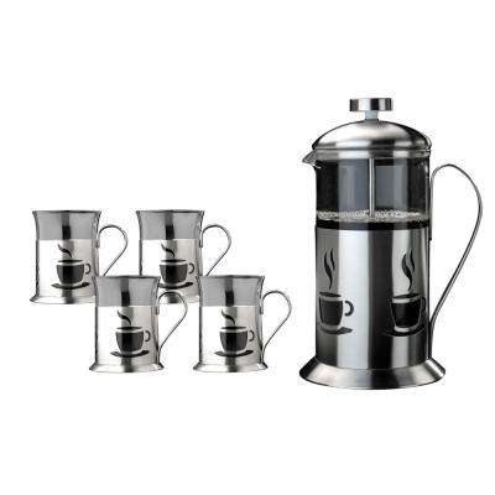 French Press 5-Piece Coffee Set