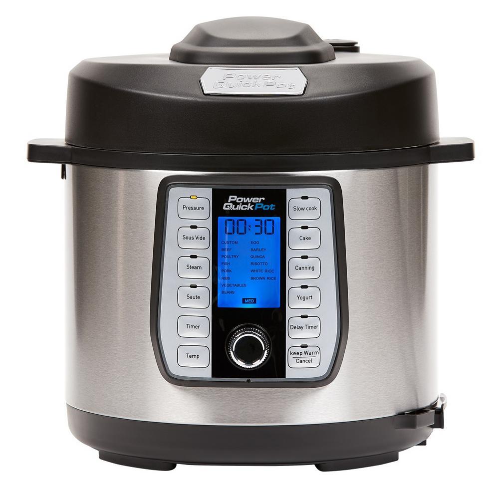 Multi-Cooker 8 Qt. Quick Pot Pressure Cooker
